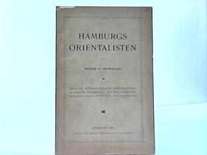 Hamburgs Orientalisten: Hamburg - Behrmann, D.