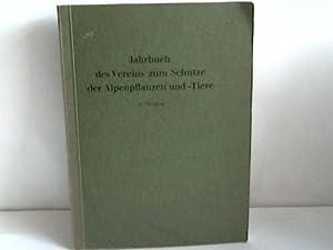 Jahrbuch des Vereins zum Schutze der Alpenpflanzen und -Tiere: Schmidt, Paul