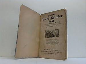 Deutscher Volks-Kalender 1856: Gubitz, F. W. (Hrsg.)