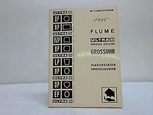 Uhrglas-Katalog. Grossuhren: Uhren - Rudolf Flume / Essen