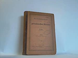 Die Territorialgeschichte des preussischen Staates: Fix, W.