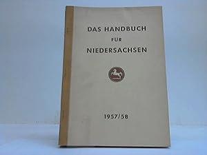 Das Handbuch für Niedersachsen 1957/58: Niedersachsen
