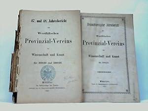Jahresbericht des Westfälischen Provinzial-Vereins für Wissenschaft und Kunst. 43/47...