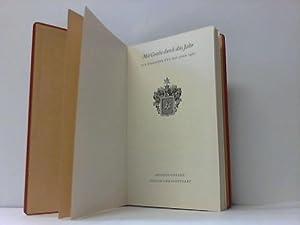 Mit Goethe durch das Jahr. Ein Kalender für das Jahr 1961: Boerner, Peter (Hrsg.)