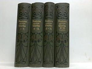Sämtliche Werke. 18 Bände in 4 Bänden. Mit einer Biographie des Dichters und mit ...