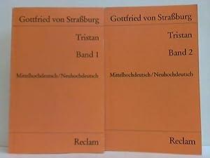 Tristan. 2 Bände: Strassburg, Gottfried von