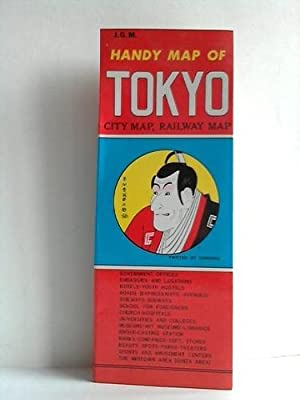 Handy Map of Tokyo - City Map,: Japan Guide Map