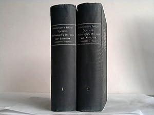 Lehrbuch der speziellen Pathologie und Therapie der Haustiere. 2 Bände: Fröhner, Eugen/...