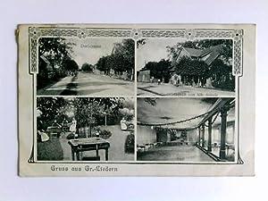 Postkarte: Gruss aus Gr.-Liedern: Gr.-Liedern