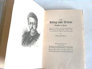 Von alltag und Sonne. Gedichte und Prosa. Rondos, Lieder und Tagebuchblätter, Mönchguter ...