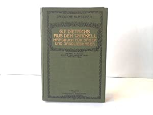 Handbuch für Jäger, Jagdberechtigte und Jagdliebhaber: Winckell, Georg Franz Dietrichs ...