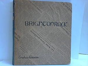 """Am Abgrund des Lebens """"Brighton Rock"""". Ein Roman. Kolportageroman in 42 Folgen: Greene, ..."""