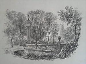 Drei Originalradierungen Sanssouci - Babelsberg: Prinzessin Luise von Prue�en