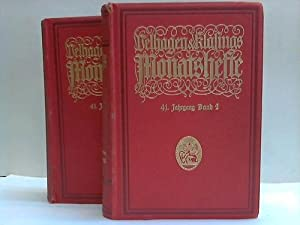 Velhagen & Klasings Monatshefte. 41. Jahrgang 1926/1927. 2 Bände: Velhagen & Klasing ...