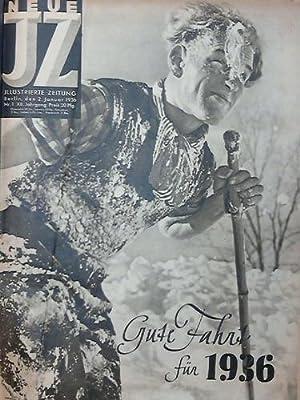 XII. Jahrgang 1936; Nr. 1 bis 53, komplett in 2 Bänden: Neue Illustrierte Zeitung