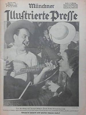 13. Jahrgang 1936; Nr. 1 bis 53, komplett in 2 Bänden: Münchner Illustrierte Presse