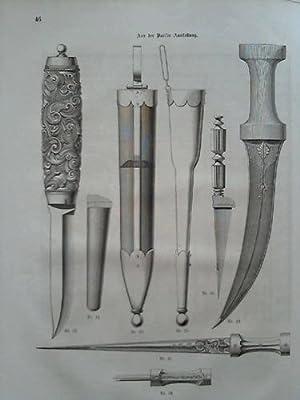Organ für den Fortschritt in allen Zweigen der Kunstindustrie - 7. Jahrgang 1869; Nr. 1 bis 12...