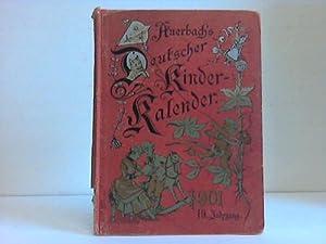 Auerbach's Deutscher Kinder-Kalender auf das Jahr 1901. Eine Heftgabe für Knaben und M&...