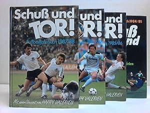 Schuß und Tor! Fußballjahrbücher. 4 Bände: Eiberle, Hans