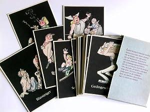 47 (von 48) Postkarten der Reihe: Lustige Gez�hkiste