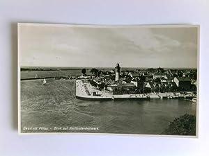 1 Postkarte: Seestadt Pillau - Blick auf: Pillau