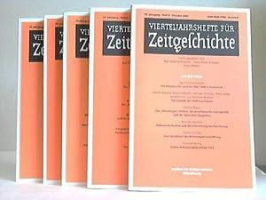 Vierteljahreshefte für Zeitgeschichte. Heft 1 bis 4. Vier Hefte: Bracher, Karl Dietrich/...