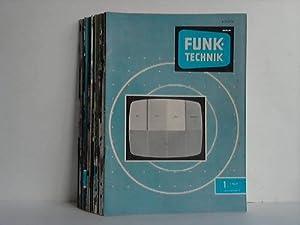 Jahrgang 1969, 23 Hefte (von 24 Heften): Funk-Technik
