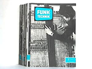 Jahrgang 1974. 23 Hefte (von 24 Heften): Funk-Technik