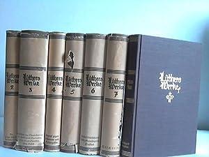 Ausgewählte Werke. Band 1 bis 7. Sieben Bände: Luther, Martin