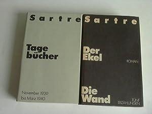 Der Ekel/Die Wand. Fünf Erzählungen: Sartre, Jean-Paul