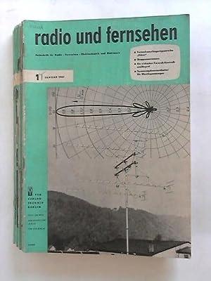 Zeitschrift für Radio, Fernsehen, Elektroakustik und Elektronik - 15. Jahrgang; Nr. 1 bis 24 &...