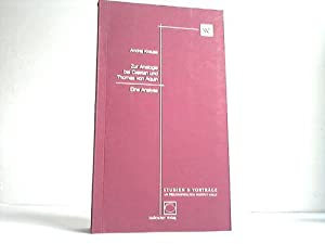 Zur Analogie bei Cajetan und Thomas von Aquin. Eine Analyse,: Krause, Andrej