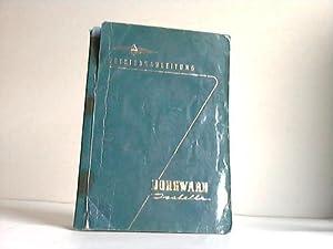 Betriebsanleitung Borgward Isabella. Die Anleitung enthält auch die Angaben über die ...
