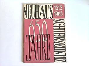 Festschrift zur 650-Jahr-Feier der Gemeinde Neuhaus-Schierschnitz. 1315-1965: Rat der Gemeinde ...