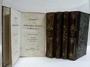 Geschichte der bildenden Kunst bei den Alten. 4 Bände in 5 Bänden (von 7 Bänden): ...