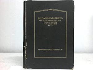 Bildnisminiaturen aus niedersächsischem Prrivatbesitz: Kestner-Gesellschaft e.V. (Hrsg.)