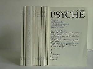 Zeitschrift für Psychoanalyse und ihre Anwendungen. 53. Jahrgang 1999. 12 Hefte komplett in 11...
