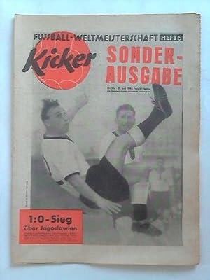 Sonderausgabe - Jahrgang 1958; Nr. 24a: 1:0 Sieg über Jugoslawien: Kicker