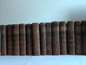Chirurgische Bibliothek. 12 komplette Bände (Bände 1 - 4 und 8 - 15) sowie 2 Bände ...