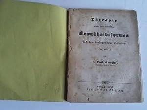 Theorie acuter und chronischer Krankheitsformen nach dem homöopathischen Heilpincip: Kreutzler...