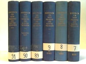 Handbuch für Hochfrequenz- und Elektrotechniker. 6 Bände: Rint, Curt