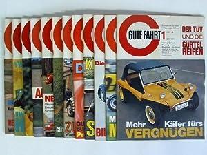 Zeitschriften für den Volkswagenfahrer - Jahrgang 1969 in 12 Ausgaben: Gute Fahrt