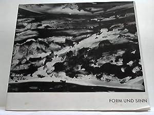 Form und Sinn. Thesen und Reflexionen über moderne Kunst: Schönwald Druckerei, Essen (Hrsg.)