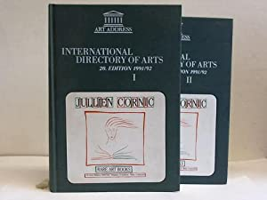 International Directory of Arts. Internationales Kunst-Adressbuch. 20. Edition 1991/92. 2 B&...