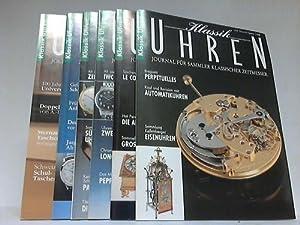 Journal für Sammler klassischer Zeitmesser. Jahrgang 1995 komplett in 6 Heften: Uhren - ...