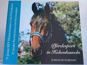 Pferdesport in Hohenhameln. Jubiläums-Chronik: Weitzner, Dr. Theodor