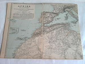 Afrika-Karte 1 : 10.000.000 mit 16 Randkarten: Lüddecke R.