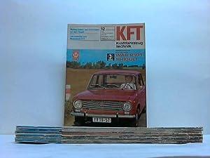 Technische Zeitschrift des Kraftfahrwesens. 12 Hefte: KFT Kraftfahrzeugtechnik