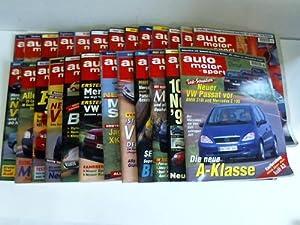 Jahrgang 1996. 25 (von 26) Ausgaben: Auto Motor und Sport