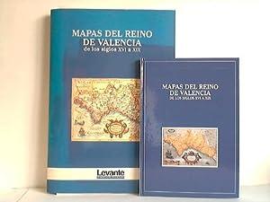 Mapas del Reino de Valencia de los Siglos XVI a XIX. Buch- und Tafelband. 2 Bände: Edo, ...